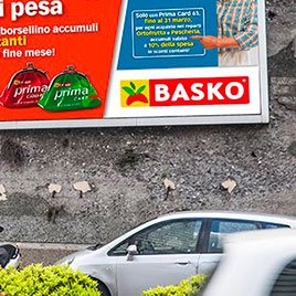 Pubblicità Basko